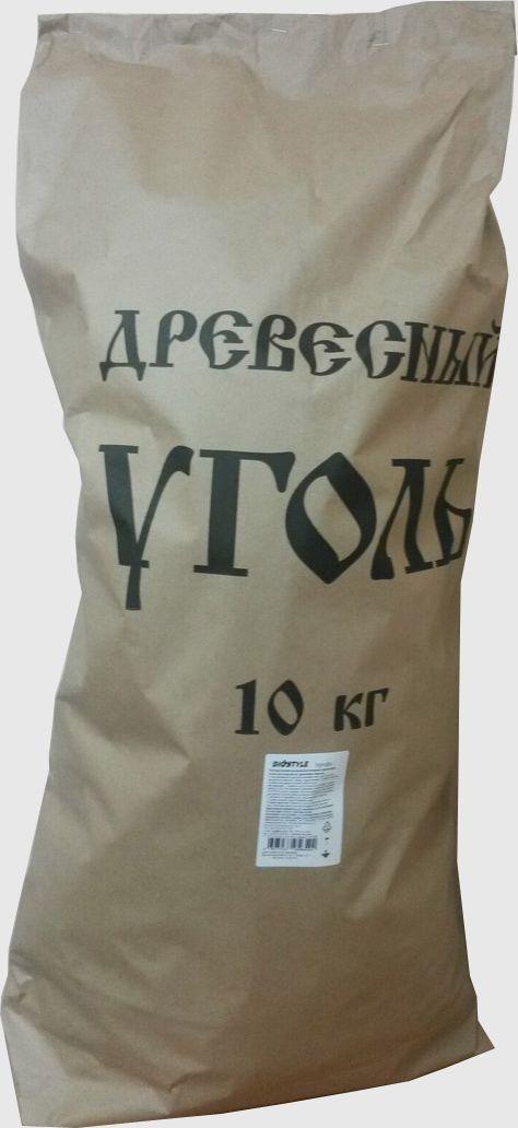 Уголь древесный Biostyle  Профи , 10 кг - Посуда для приготовления