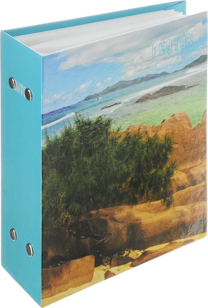 Фотоальбом Pioneer Deep Sea, 100 фотографий, цвет: голубой, зеленый, 10 x 15 см46257 РР-46100Фотоальбом Pioneer Deep Sea поможет красиво оформить ваши самые интересныефотографии. Обложка из толстого ламинированного картона оформлена принтом. Фотоальбом рассчитан на 100 фотографий форматом 10 x 15 см. Внутри содержится блок из 50 листов с окошками из полипропилена. Такой необычный фотоальбом позволит легко заполнить страницы вашей истории, и с годами ничего не забудется.Тип обложки: Ламинированный картон.Тип листов: полипропиленовые.Тип переплета: высокочастотная сварка.Кол-во фотографий: 100.Материалы, использованные в изготовлении альбома, обеспечивают высокое качество хранения ваших фотографий, поэтому фотографии не желтеют со временем.