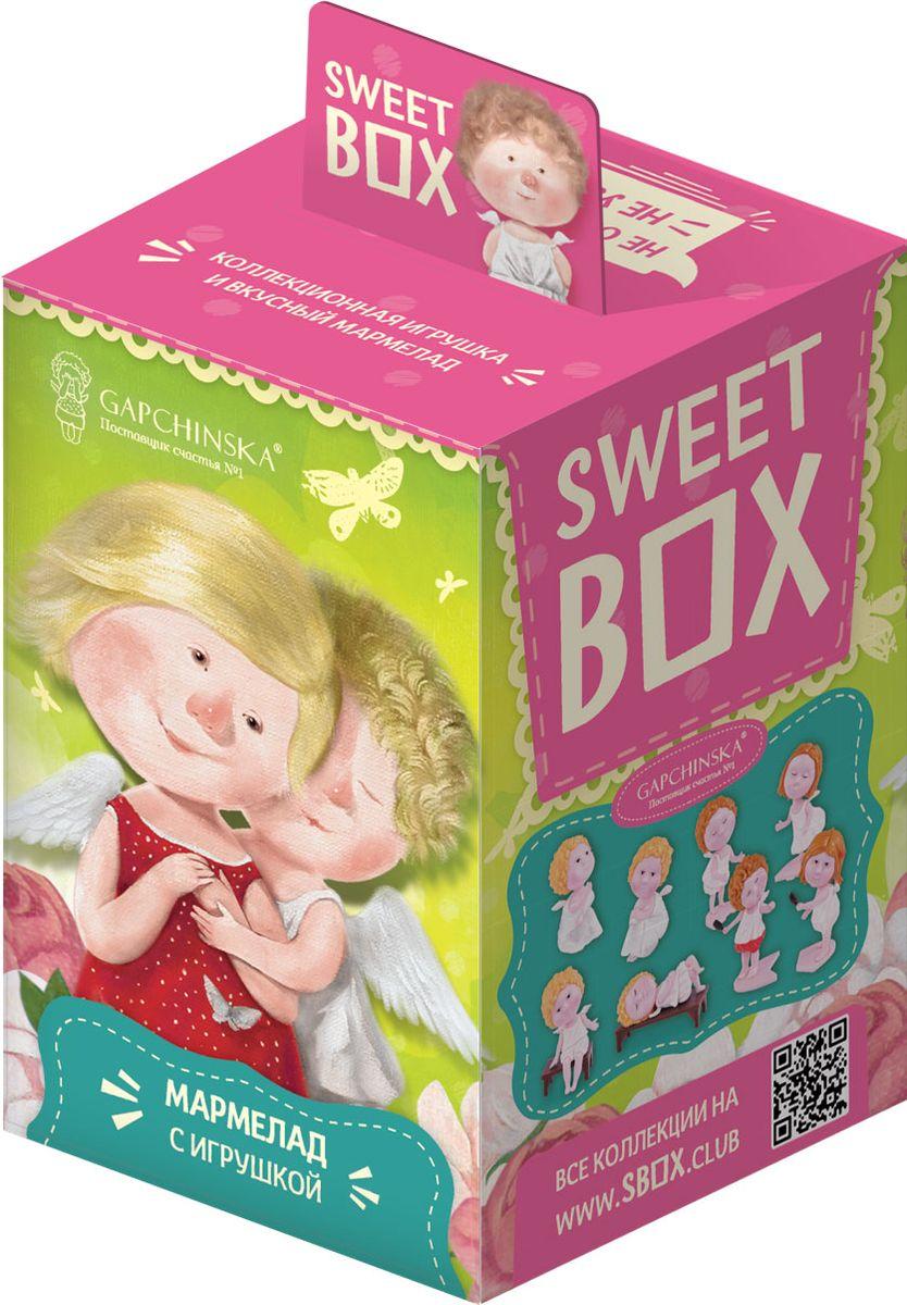 Sweet Box Гапчинская жевательный мармелад с игрушкой, 10 гУТ18997В каждой коробочке коллекционная 3Д игрушка Гапчинская в индивидуальном пакетике с дизайном и лифлетом. Лифлет лежит в пакетике с игрушкой. 8 игрушек в коллекции.