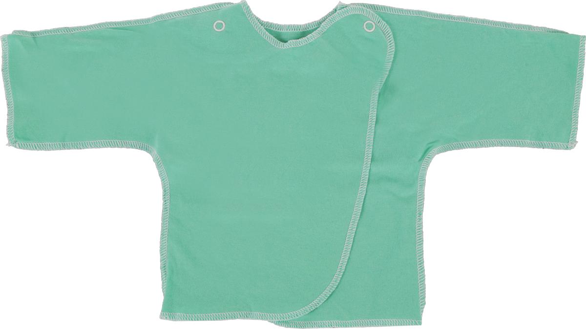 Распашонка Трон-плюс, цвет: зеленый. 5002. Размер 50, 0-1 месяц