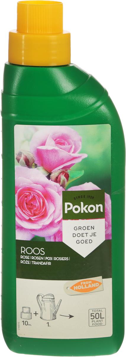 Удобрение Pokon, для роз, 500 млL140011Удобрение Pokon предназначено для роз. Чтобы розы часто цвели, им необходимо правильное питание. Сбалансированная смесь Pokon, специально составленная для розариев на террасах и балконах, способствует обильному и длительному цветению роз. Это удобрение специально разработано для роз и содержит раствор питательных веществ с соотношением NPK 8 + 5 + 5 и с добавкой других микроэлементов.Удобрение соответствует нормам ЕС.Товар сертифицирован.