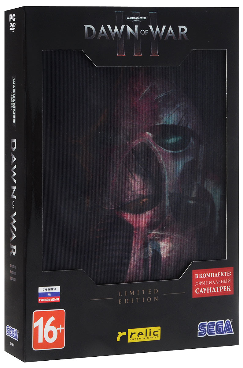 izmeritelplus.ru Warhammer 40,000: Dawn of War III. Limited Edition (4 DVD)