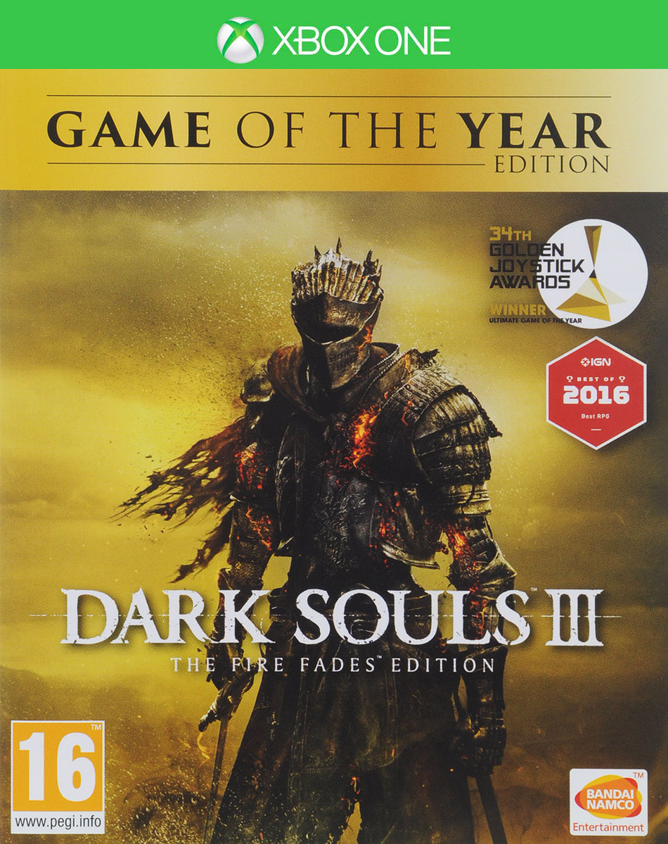 Dark Souls III. The Fire Fades Edition (Xbox One) diablo iii reaper of souls ultimate evil edition xbox one