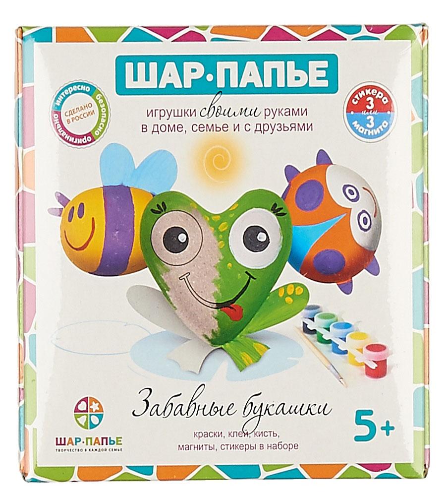 Шар-папье Набор для изготовления игрушек Забавные букашки бумбарам набор зайчик шар папье