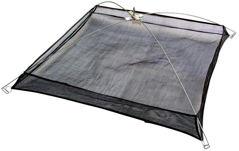 Подъемник рыболовный SWD, 80 x 80, ячейка 5 мм, бортик сетеполотно из капроновой нити для раколовок