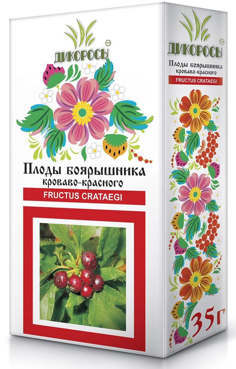 Дикоросы боярышника кроваво-красного плоды, 35 г