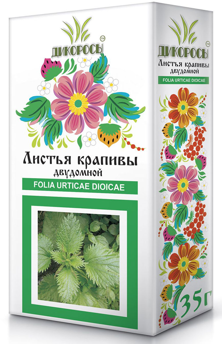 Дикоросы крапивы двудомной листья, 35 г