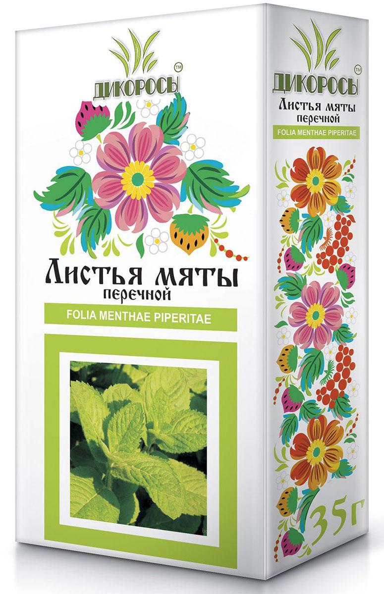 Дикоросы мяты перечной листья, 35 г
