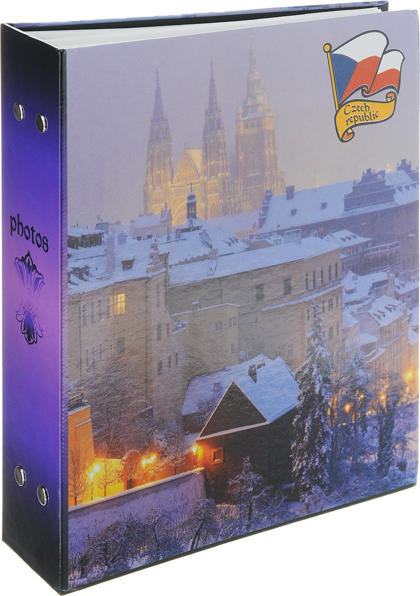 Фотоальбом Pioneer Eurotrip, 200 фотографий, цвет: фиолетовый, 10 x 15 см46326 PP-46200Фотоальбом Pioneer Eurotrip поможет красиво оформить ваши самые интересныефотографии. Обложка из толстого ламинированного картона оформлена принтом с Чехией. Фотоальбом рассчитан на 200 фотографий форматом 10 x 15 см. Внутри содержится блок из 50 листов с окошками из полипропилена, одна страница оформлена двумя окошками для фотографий. Такой необычный фотоальбом позволит легко заполнить страницы вашей истории, и с годами ничего не забудется.Тип обложки: картон.Тип листов: полипропиленовые.Тип переплета: высокочастотная сварка.Материалы, использованные в изготовлении альбома, обеспечивают высокое качество хранения ваших фотографий, поэтому фотографии не желтеют со временем.