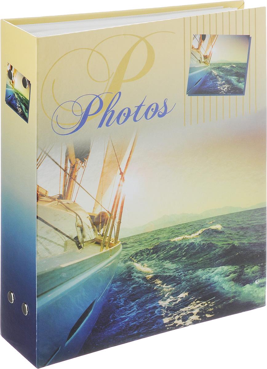 Фотоальбом Pioneer Blue Sea, 200 фотографий, цвет: синий, желтый, 10 x 15 см46210 PP-46200Фотоальбом Pioneer Blue Sea поможет красиво оформить ваши самые интересныефотографии. Обложка из толстого ламинированного картона оформлена ярким принтом. Фотоальбом рассчитан на 200 фотографий форматом 10 x 15 см. Внутри содержится блок из 50 листов с окошками из полипропилена, одна страница оформлена двумя окошками для фотографий. Такой необычный фотоальбом позволит легко заполнить страницы вашей истории, и с годами ничего не забудется.Тип обложки: картон.Тип листов: полипропиленовые.Тип переплета: высокочастотная сварка.Материалы, использованные в изготовлении альбома, обеспечивают высокое качество хранения ваших фотографий, поэтому фотографии не желтеют со временем.