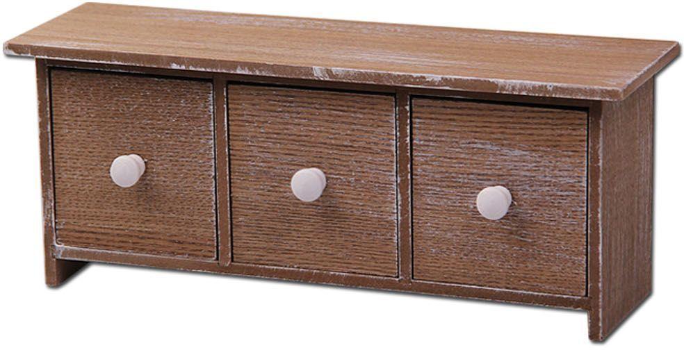 Шкатулка Patricia Мини-комод, цвет: коричневый, 14 х 23 х 12 см. IM99-2630 емкости неполимерные patricia банка 17 см шт