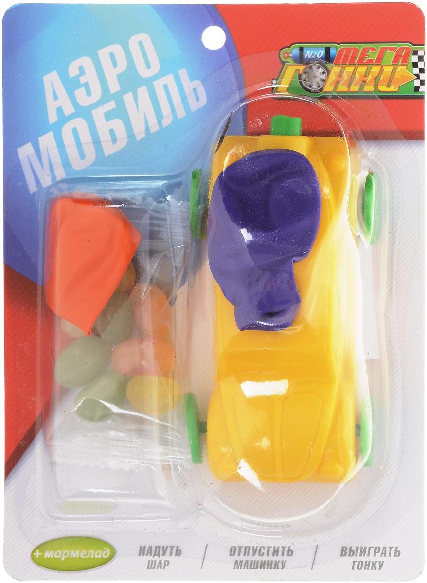 Конфитрейд Машинка с надувным шариком фруктовый мармелад с игрушкой, 10 г sweet box пони на ладони мармелад жевательный с игрушкой 10 г