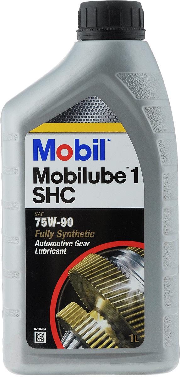 Масло трансмиссионное Mobil UBE 1 SHC 75W90, 1 л149618