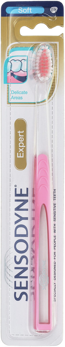 Sensodyne Зубная щетка для Чувствительных зубов, цвет: розовыйP33RF0-E3002_розовый