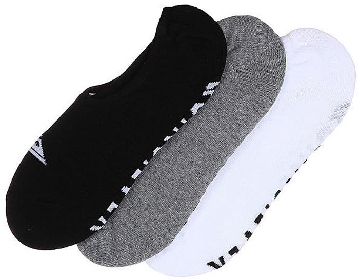 Носки мужские Quiksilver No Show Pack, цвет: черный, белый, серый, 3 пары. EQYAA03484-AST. Размер 6/9 (39/42)EQYAA03484-ASTМужские носки Quiksilver изготовлены из хлопка с добавлением полиэстера и эластана. Укороченная модель хорошо держит форму и обладают повышенной воздухопроницаемостью.
