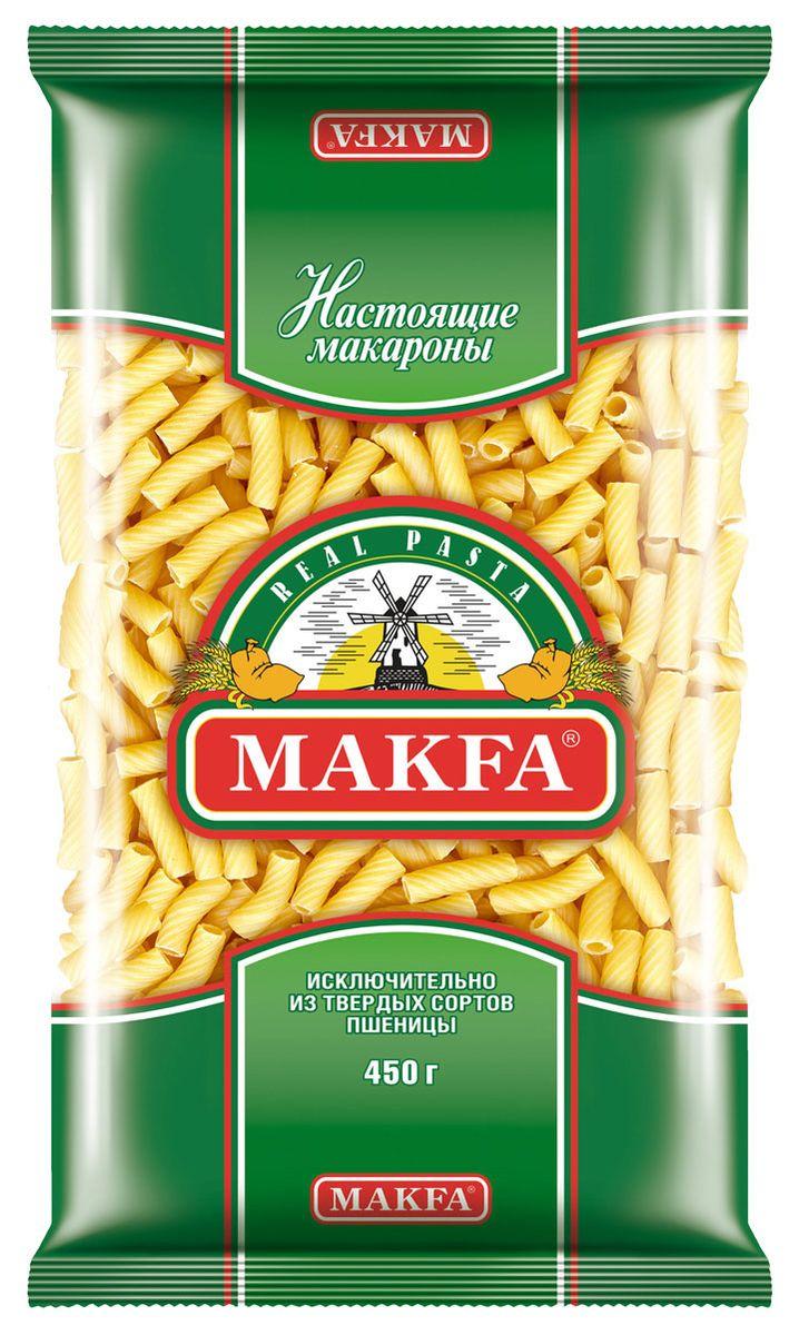Makfa рожки, 450 г214-4Макароны Макфа Рожки гладкие - это одновременно прекрасный выбор для тех, кто не хочет создавать кулинарные шедевры, а просто любит быстро и вкусно поесть, и для тех, кто способен придать привычным продуктам необычный вид и вкус.