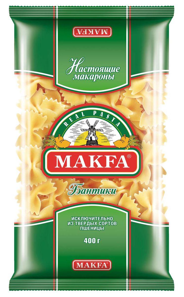 Makfa бантики, 400 г мука пшеничная обойная пудов