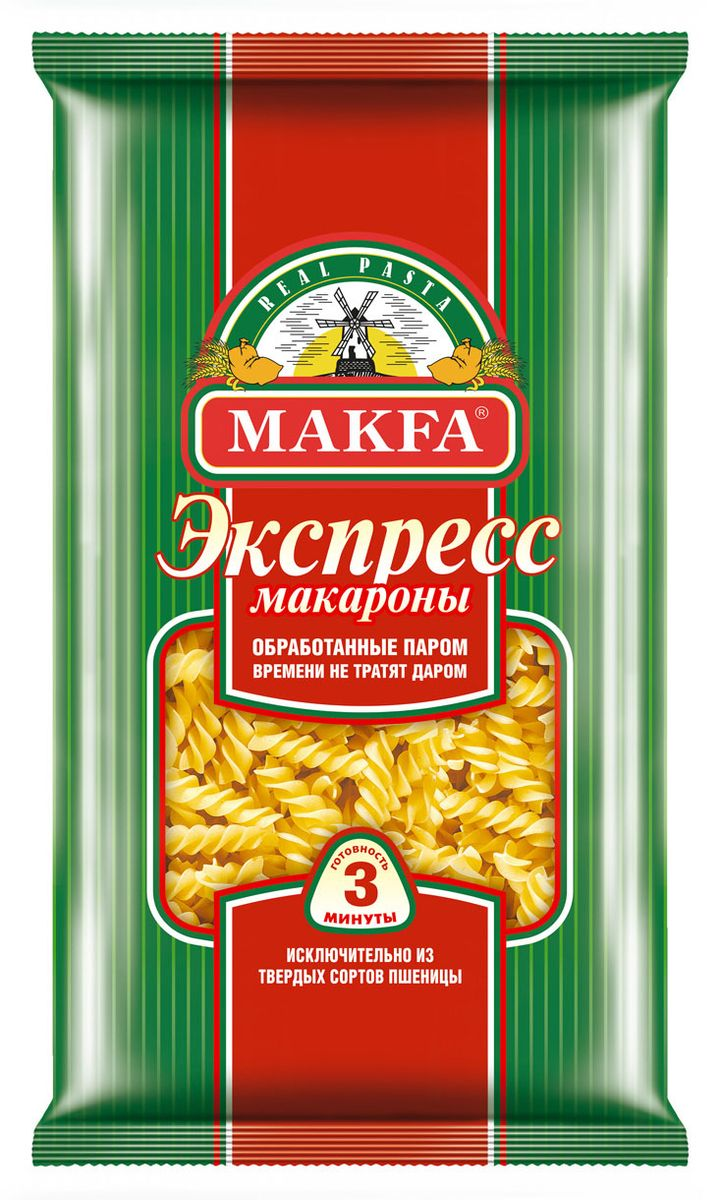 цены Makfa спиральки экспресс, 400 г