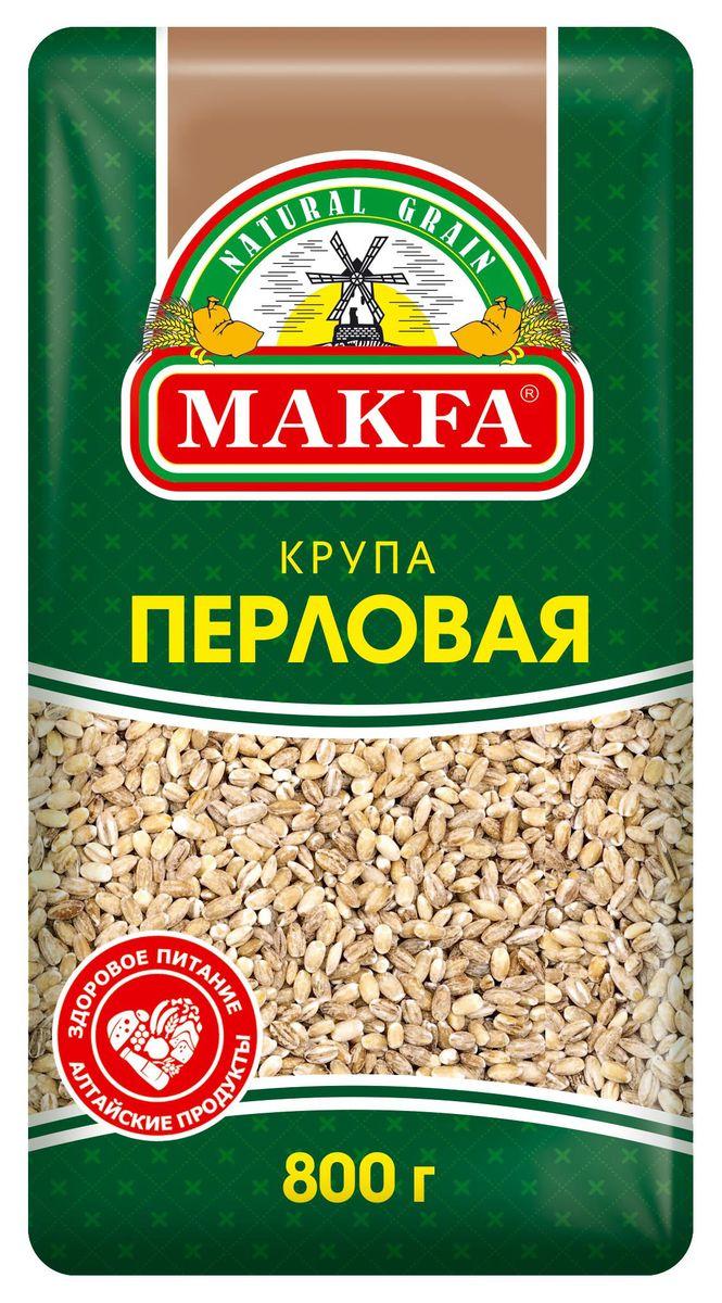 Makfa перловая крупа ячменная, 800 г auchan био масло оливковое экстра виржен auchan 750мл
