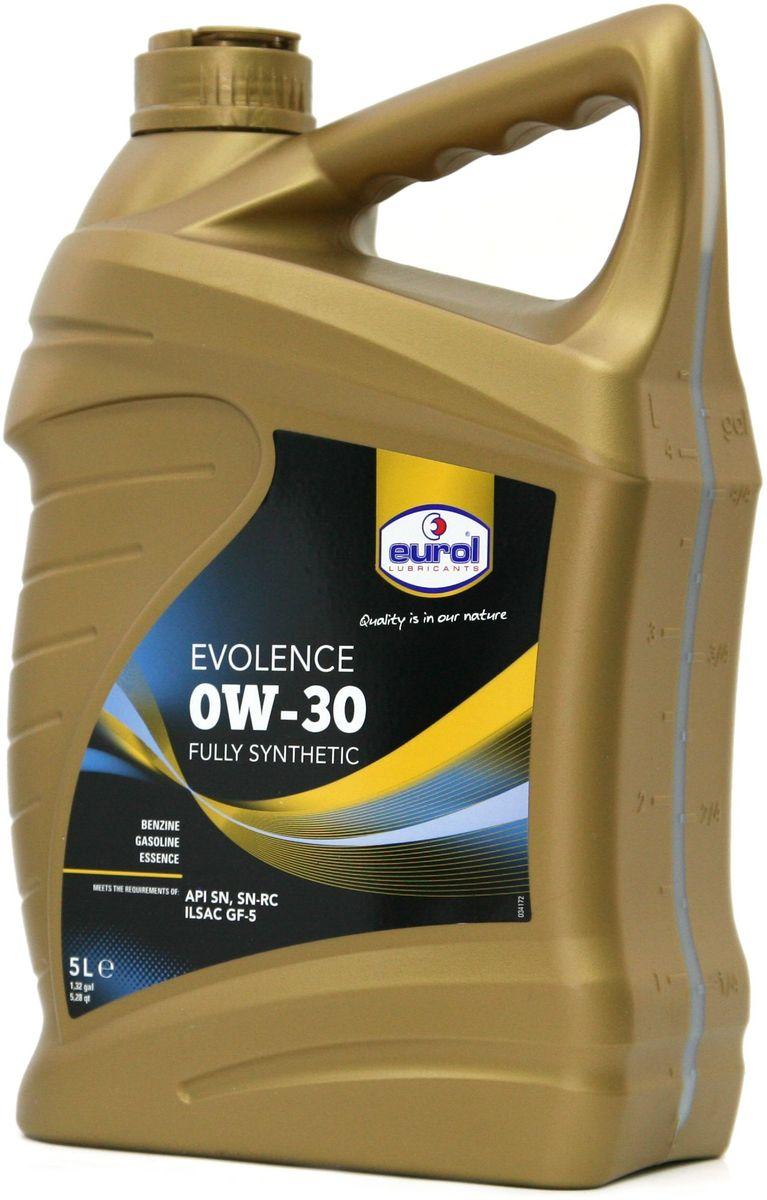 Масло моторное EUROL Evolence, класс вязкости 0W-30, 5 лE100129-5lПолностью синтетическое моторное масло с длительным сроком эксплуатации и хранения на основе технологии mid SAPS (сниженное содержание сульфатной золы, фосфора и серы). Eurol Evolence включает в себя спектр полностью синтетических моторных масел для бензиновых двигателей легковых автомобилей. Это масло может быть использовано в машинах, оснащенных каталитическими нейтрализаторами отработавших газов, двигателями с турбонаддувом и системами прямого впрыска, где требуется применение масел типа API SN/SN-RC (а также SJ, SL и SM) или ILSAC GF-5 (а также GF-2,-3 и -4).Синтетическое моторное масло Eurol Evolence, изготовленное с присадками ОPТ предлагает исключительно высокий уровень защиты, в том числе - для турбокомпрессоров, после продолжительных интервалов между заменами масла.Масло Eurol Evolence противостоит окислению при высокой температуре, а также образованию отложений, предотвращает появление шлама и нагара на поверхностях, и соответствует высочайшим стандартам 2010 США для защиты от износа двигателя.Синтетическое моторное масло Eurol Evolence предлагает повышенную экономию топлива и ее поддержание на достигнутом уровне, что уменьшает выбросы. Кроме этого, масло совместимо с сортами бензина, содержащими до 85% этанола (E85). Eurol Evolence подходит для современных гибридных автомобилей таких марок, как Toyota, Honda и Lexus.Масло Eurol Evolence может использоваться там, где рекомендуется применение масел GM 6094M, Chrysler MS 6395 и Ford WSS-M2C-945A или 946A, поскольку Синтетическое моторное масло Eurol Evolence 0W-30 также соответствует требованиям GM dexos1.Для некоторых видов использования в тяжелых условиях эксплуатации, например - с частыми остановками или повышенными нагрузками, интервалы замены масла должны быть значительно уменьшены, в соответствии с упоминаниями в некоторых инструкциях по эксплуатации.ВАЖНО: Не подходит для дизельных сажевых фильтров.