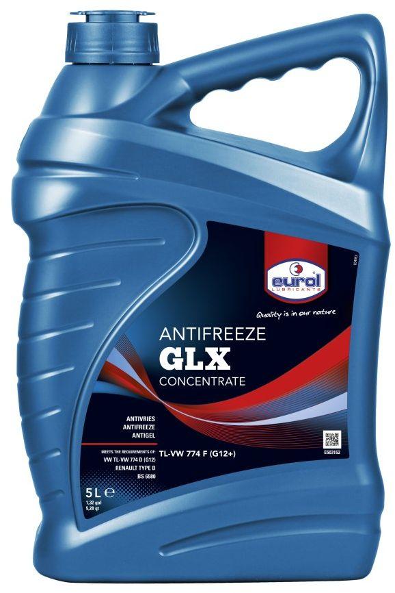 """Жидкость охлаждающая EUROL """"Antifreeze GLX"""", G-12, 5 л"""