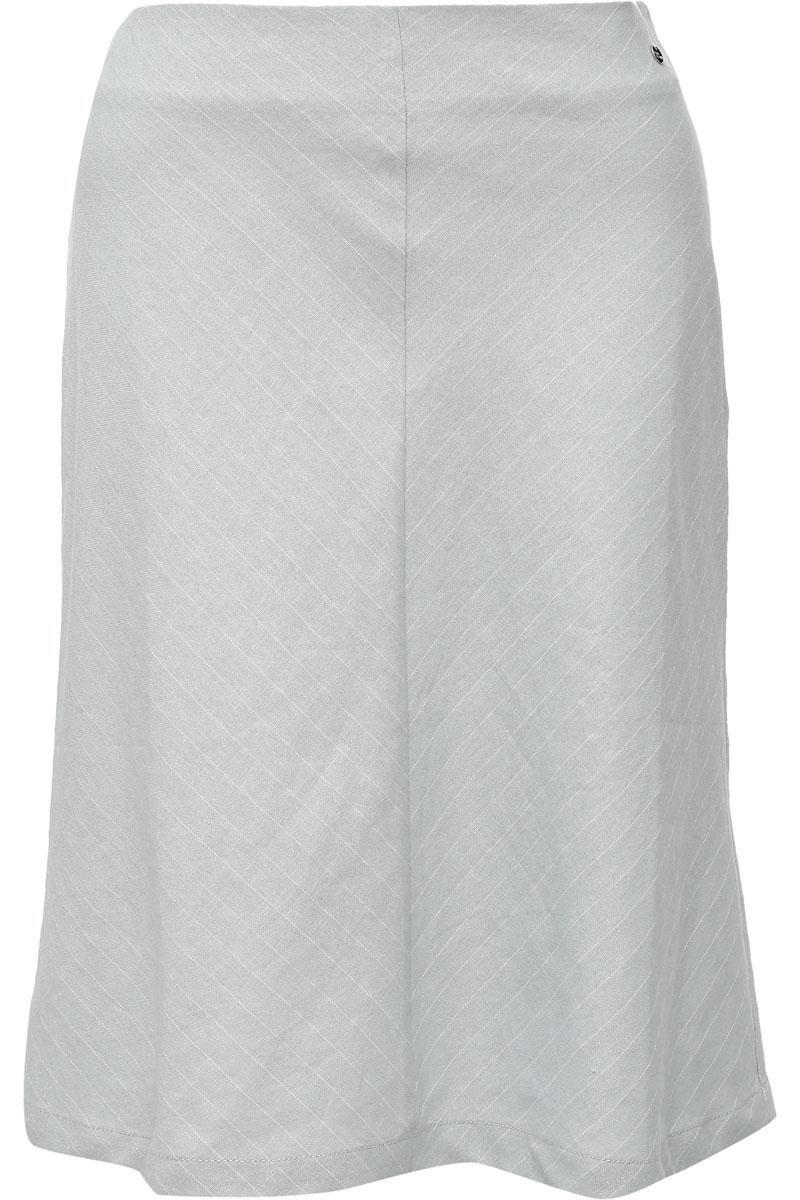 Юбка женская Finn Flare, цвет: светло-серый. S17-14000_211. Размер L (48)S17-14000_211Эта длинная модель прямого кроя порадует вас комфортным и лаконичным дизайном. Сбоку юбка застёгивается на молнию. Выполнена модель изо льна и вискозы.