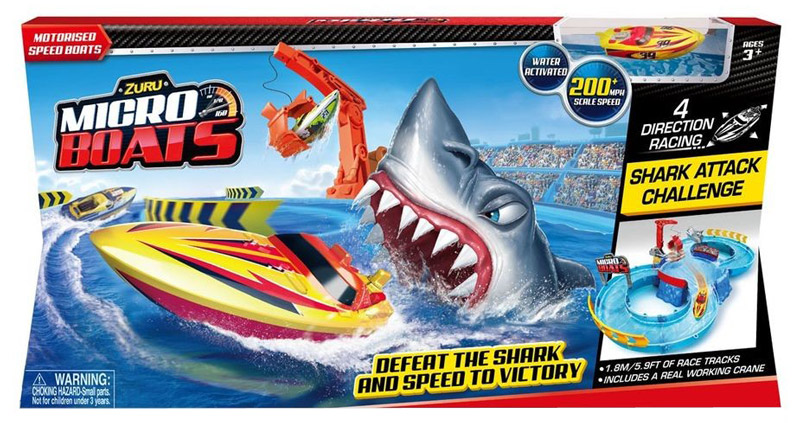 Zuru Игрушечный трек Shark Attack majorette creatix игрушечный трек starter pack