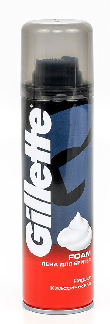 GilletteПена для бритья Классическая, 200мл Gillette