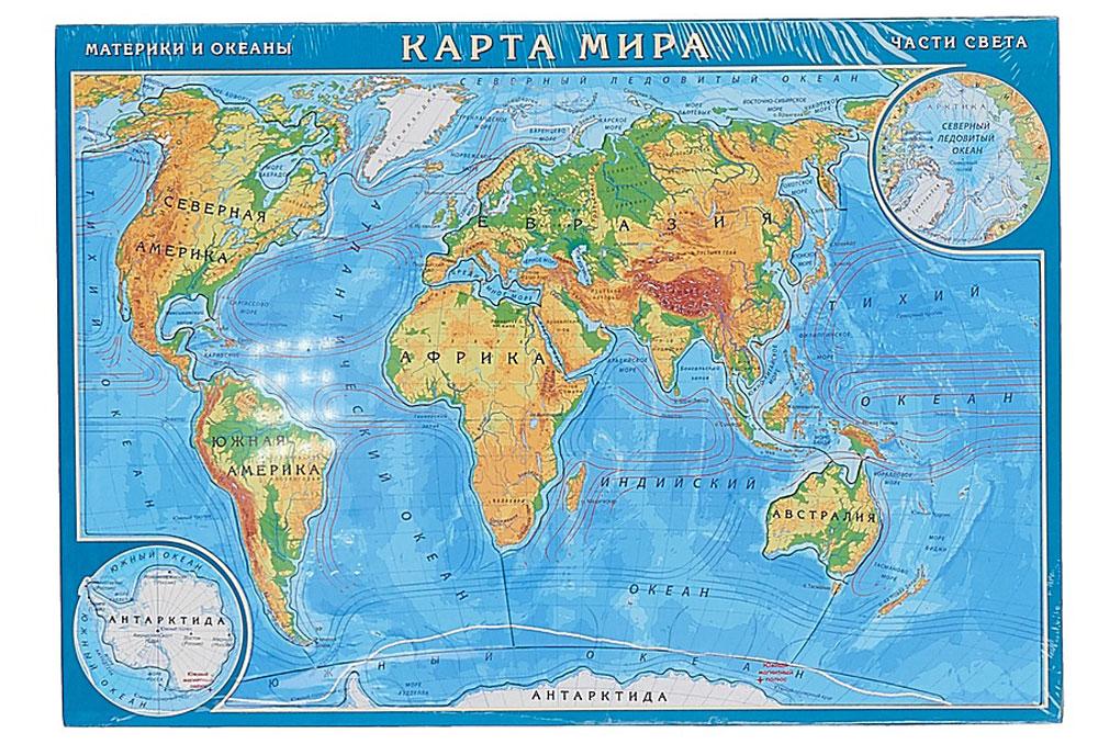 Геоцентр Пазл Карта Мира