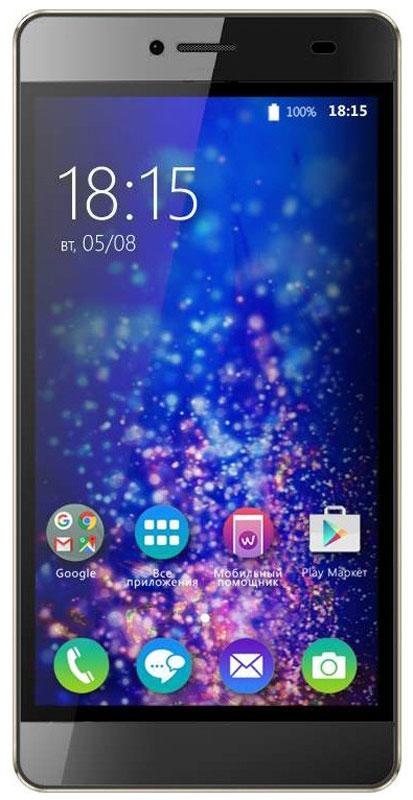 BQ 5070 Magic LTE, Brown46611747За тонким корпусом BQ 5070 Magic LTE спрятан производительный четырехъядерный процессор, 13-мегапиксельная камера и HD-дисплей с разрешением 1280 х 720 точек. Также устройство поддерживает современную технологию LTE.Четырехъядерный процессор с тактовой частотой 1,25 ГГц и 2 ГБ оперативной памяти позволяют смартфону эффективно отвечать на пользовательские запросы и успешно справляться с поставленными задачами.Смотрите любимые фильмы или фото на смартфоне BQ Magic. Яркий IPS-экран с диагональю 5 дюймов и HD разрешением, удивляет насыщенными красками и четкостью изображения.Для хранения данных пользователю выделено 16 ГБ встроенной памяти, которую можно при необходимости расширить с помощью Micro SD карты до 128 ГБ. Данныйобъем памяти дает ощутимое быстродействие работы в любом приложении.Данная модель получила две камеры: 13 Мпикс основную и 5 Мпикс фронтальную для селфи. Обе камеры создаютснимки высокого качества, но не менее важно то, что эти фотографии будут эффектно смотреться на большом 5 дюймовом экране с яркой цветопередачей.В качестве программной платформы выбрана операционная система Android 6.0 с фирменным графическим интерфейсом, которая позволит пользователю получить полный комплекс мультимедийных возможностей. А обязательная поддержка двух сим-карт - уже давно функция каждого уважающего себя смартфона.Смартфон сертифицирован EAC и имеет русифицированный интерфейс меню и Руководство пользователя.