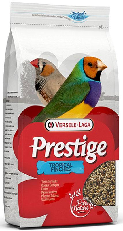 Корм для экзотических птиц Versele-Laga Tropical Finches, 1 кг корм tetra tetramin xl flakes complete food for larger tropical fish крупные хлопья для больших тропических рыб 10л 769946
