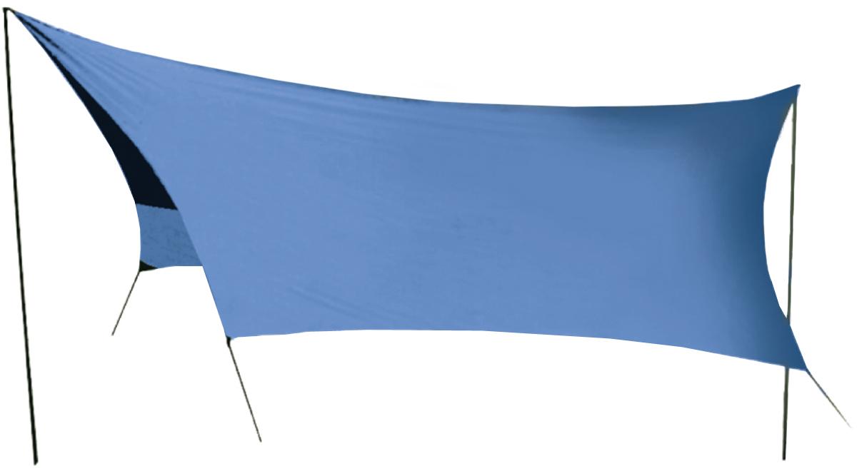 Тент Sol, цвет: синий, 440 х 440 смSLT-036.06Удобный тент со стойками Tramp предназначен для защиты от дождя и солнца. Изделие очень просто устанавливается. Идеально подходит для отдыха на открытом воздухе в летнее время, спасает от легкой непогоды и солнца. Тент выполнен из прочного полиэстера. Стойки изготовлены из стали толщиной 16 мм. В комплект входит чехол для переноски и хранения. Размер тента: 440 х 440 см.