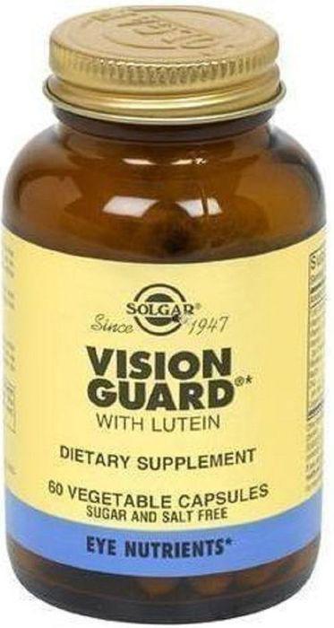 Солгар Вижн гард плюс, 60 капсул211459Входящие в состав растительные экстракты, витамины и минералы способствуют снятию усталости глаз, сохранению остроты зрения, защите сетчатки от негативного воздействия солнечного света и свободных радикалов. Все компоненты комплекса Вижн гард плюс имеют натуральное происхождение и легко усваиваются в организме.Товар не является лекарственным средством. Товар не рекомендован для лиц младше 18 лет. Могут быть противопоказания и следует предварительно проконсультироваться со специалистом. Товар сертифицирован.Уважаемые клиенты! Обращаем ваше внимание на возможные изменения в дизайне упаковки. Поставка осуществляется в зависимости от наличия на складе.