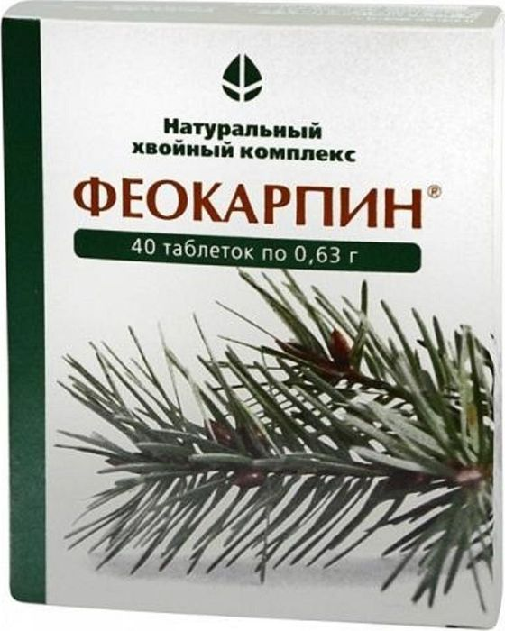 Феокарпин, 40 таблеток х 0,63 г24911Феокарпин является необходимой добавкой к пище при несбалансированном питании, при недостатке овощей и фруктов, восполняет потребность организма в витаминах, микроэлементах.Благодаря уникальному природному комплексу, Феокарпин является мощным антиоксидантом защищает организм от свободных радикалов.Феокарпин стимулирует кроветворение, улучшает кровоснабжение организма, замедляет процесс старения, улучшает подвижность суставов и возвращает эластичность коже, предотвращает возникновение остеопороза, нормализует уровень холестерина в крови, оказывает лечебно-профилактический эффект при язвенной болезни.Повышая защитные функции организма, Феокарпин становиться в период эпидемий эффективным средством профилактики гриппа и ОРЗ, а также вирусных, грибковых и бактериальных инфекций.Феокарпин оказывает онкопрофилактический эффект на развитие злокачественных опухолей основных локализаций. Феокарпин эффективно тормозит канцерогенез молочной железы, уменьшает риск онкологических заболеваний, эффективен в процессе лечения предраковых заболеваний, после радикального лечения злокачественных опухолей, при лучевой и химиотерапии.При лечении Феокарпином мастопатии у женщин ослабевают боли в молочной железе, уменьшается болезненность и продолжительность менструаций, пальпаторные симптомы мастопатии. У части пациенток наблюдалась регрессия заболевания. Сфера применения: Витаминология. Товар сертифицирован.