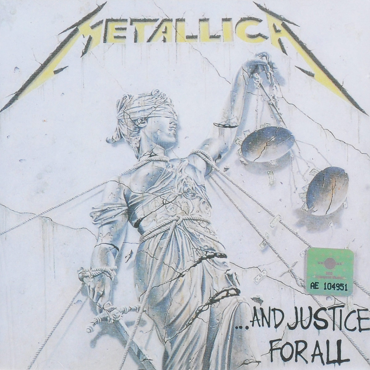 Metallica Metallica. ...And Justice For All metallica metallica monsters of rock broadcast moscow russia 1991