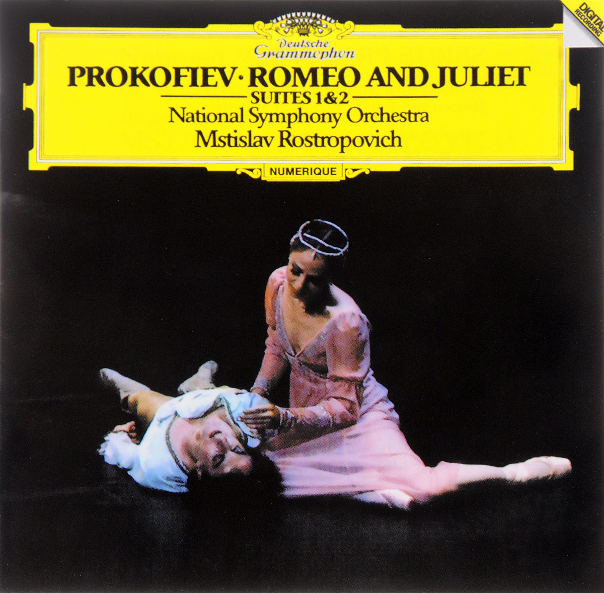 Мстислав РостроповичNational Symphony Orchestra Of Washington Mstislav Rostropovich National Symphony Orchestra Prokofiev Romeo And Juliet Suites 1 & 2