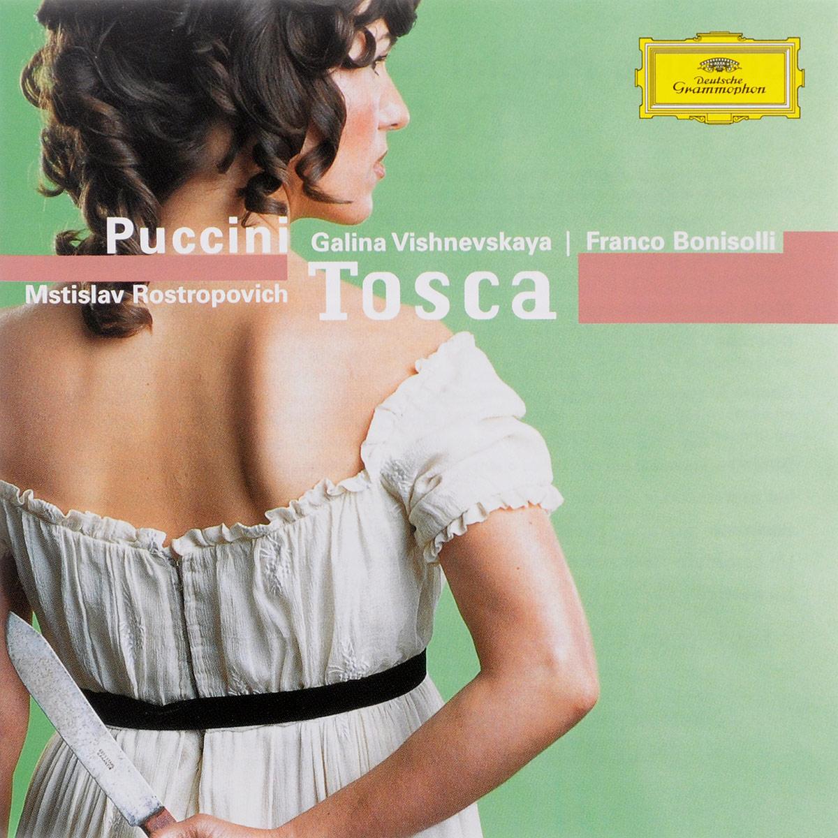 Mstislav Rostropovich. Puccini. Tosca (2 CD)