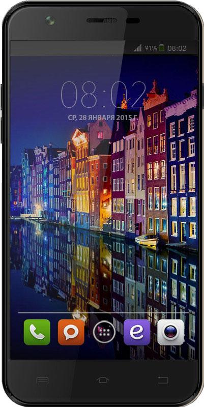 BQ 5505 Amsterdam, Black46608938BQ 5505 Amsterdam - яркие впечатления одним жестом! Смартфон станет для вас не только средством связи, но личным помощником, как в работе, так и на отдыхе. 13 Мпикс камера не пропустит все мгновения жизни.Curved Glass - защитное, изогнутое и закаленное стекло дисплея, предотвращает преломление лучей света для максимальной четкости и ясности изображения.Smart Wake Up - Умные жесты, версии 5.1, поможет повысить производительность простыми жестами. Весомым плюсом будет возможность - закрепить любой жест за любым приложением.Четырехъядерная архитектура процессора МТ6580 гарантирует использование нескольких приложений одновременно: видео, 3D игр, фото, музыки и почты в любом месте и в любое время.Большой дисплей 5.5 на базе IPS-матрицы с HD разрешением 1280x720 точек , отменной контрастностью и насыщенными цветами, позволит по-новому взглянуть на графические приложения.Смартфон сертифицирован EAC и имеет русифицированный интерфейс меню и Руководство пользователя.