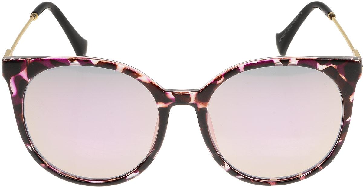Очки солнцезащитные женские Модные истории, цвет: бордовый. 7/0023/164