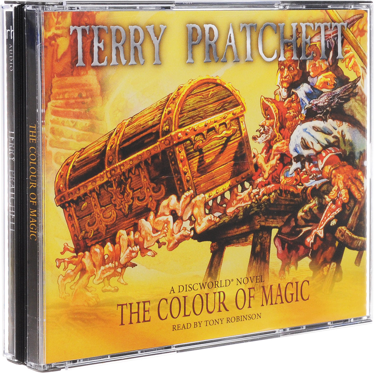 The Colour Of Magic (аудиокнига на 3 CD) a new lease of death