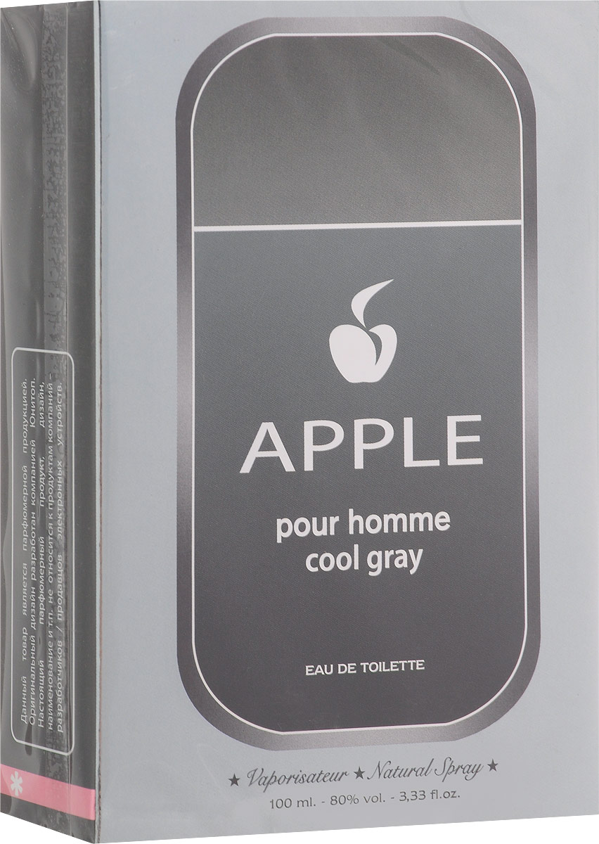 Apple Parfums Homme Cool Gray. Туалетная вода, 100 мл kenzo homme туалетная вода мужская 50 мл