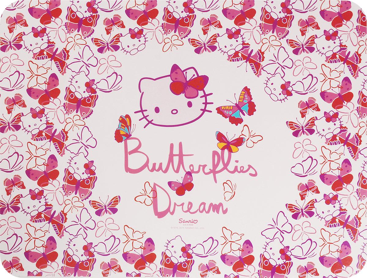 Action! Настольная подкладка для лепки Hello Kitty 43 х 32 см00-00007319Настольная подкладка Action! !Hello Kitty не только обеспечит комфортную работу во время лепки, но и предохранит поверхность рабочего стола от загрязнений и различных повреждений.Она выполнена из плотного пластика и оформлена изображением очаровательной кошечки. Яркий дизайн подкладки непременно понравится вашему ребенку.