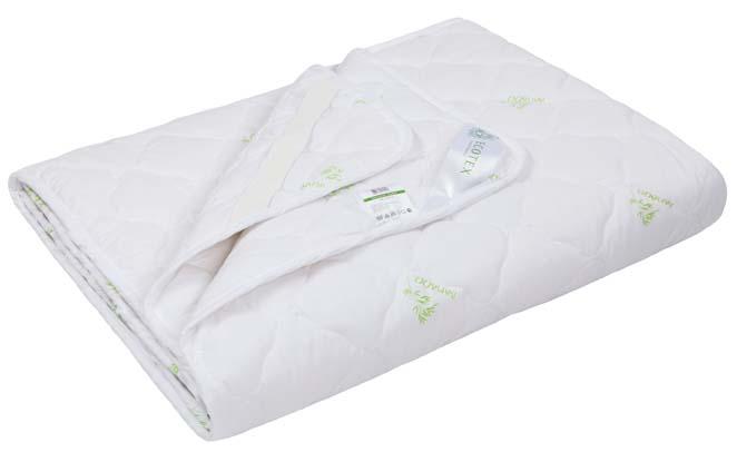 Наматрасник Ecotex Премиум Бамбук, наполнитель: бамбуковое волокно, цвет: белый, 160 х 200 см наматрасник ecotex коттон наполнитель хлопок цвет слоновая кость 120 х 200 см