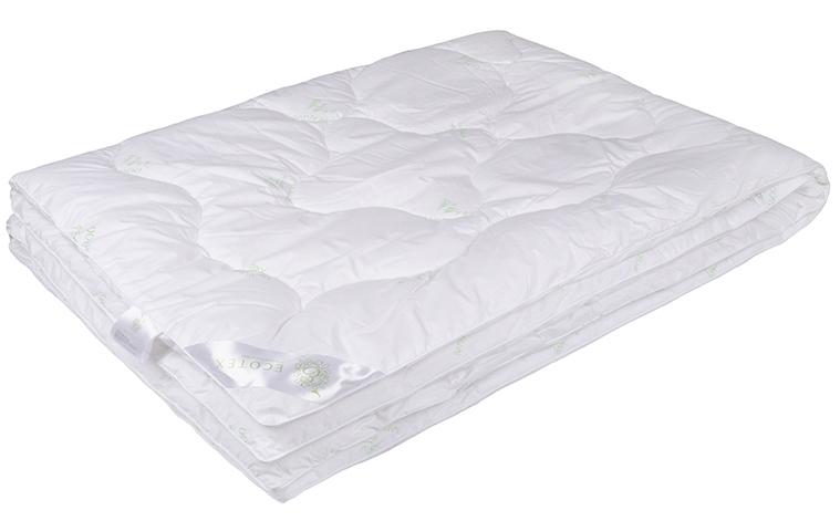 Одеяло Ecotex Бамбук-Премиум, наполнитель: бамбуковое волокно, 140 х 205 смОБП1Одеяло Ecotex Бамбук-Премиум подарит комфортный и здоровый сон. В качестве наполнителя используется бамбуковое волокно. Чехол одеяла выполнен из перкаля (100% хлопок). Важные потребительские свойства изделий коллекции Бамбук-Премиум:- экологически чистый природный материал, - высокие антибактериальные свойства, - гипоаллергенность: не вызывает раздражения и аллергии, - ощущение свежести: регулирует влажность и теплообмен, - долговечность: сохраняет свои первоначальные свойства и форму после многократных стирок.