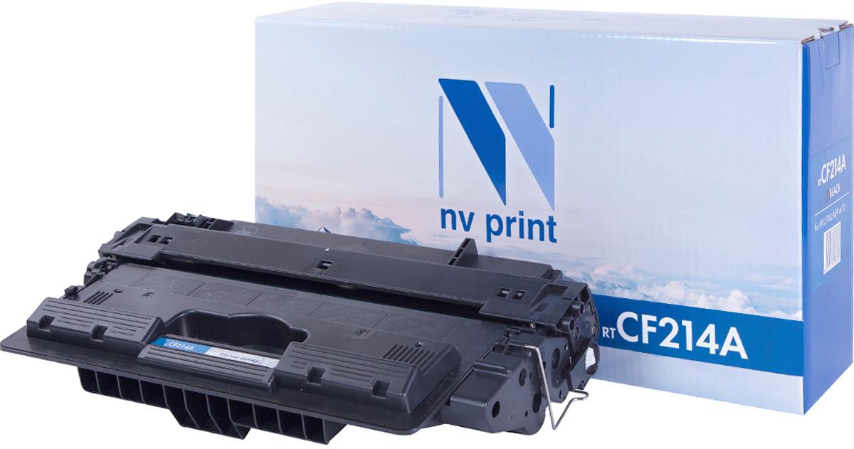NV Print CF214A, Black тонер-картридж для HP LaserJet 700 MFP/M712NV-CF214AСовместимый лазерный картридж NV Print CF214A для печатающих устройств HP - это альтернатива приобретению оригинальных расходных материалов. При этом качество печати остается высоким. Картридж обеспечивает повышенную чёткость чёрного текста и плавность переходов оттенков серого цвета и полутонов, позволяет отображать мельчайшие детали изображения.Лазерные принтеры, копировальные аппараты и МФУ являются более выгодными в печати, чем струйные устройства, так как лазерных картриджей хватает на значительно большее количество отпечатков, чем обычных. Для печати в данном случае используются не чернила, а тонер.