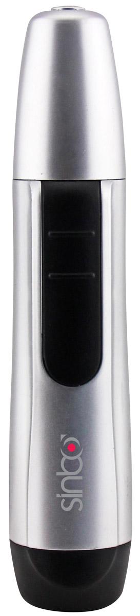 Sinbo STR 4919 триммерSTR 4919Универсальный триммер Sinbo STR 4919 станет незаменимым помощником при уходе за собой. Триммер поможет удалить нежелательные волоски из носа и ушей, не используя дополнительных приспособлений. Прибор имеет эргономичную форму, благодаря чему удобно помещается в ладони, что гарантирует его максимально комфортное использование. Работает триммер от 1 батареи типа АА. После использования триммера насадку можно промыть под водой.