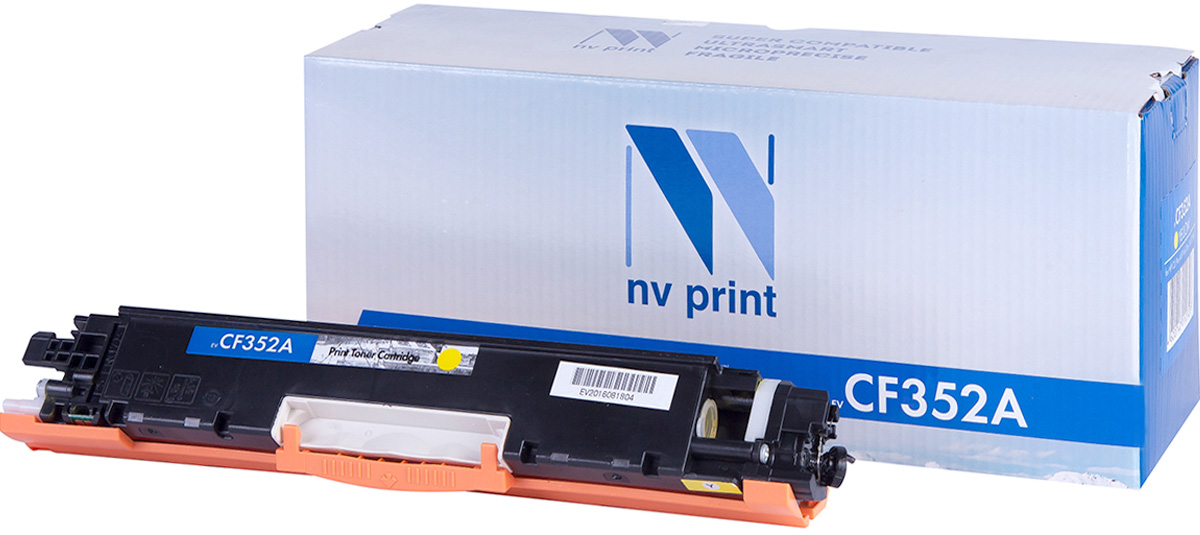 NV Print CF352AY, Yellow тонер-картридж для HP Color LaserJet Pro MFP 153/M176/M177NV-CF352AYСовместимый лазерный картридж NV Print CF352AY для печатающих устройств HP - это альтернатива приобретению оригинальных расходных материалов. При этом качество печати остается высоким. Картридж обеспечивает повышенную чёткость и плавность переходов оттенков цвета и полутонов, позволяет отображать мельчайшие детали изображения.Лазерные принтеры, копировальные аппараты и МФУ являются более выгодными в печати, чем струйные устройства, так как лазерных картриджей хватает на значительно большее количество отпечатков, чем обычных. Для печати в данном случае используются не чернила, а тонер.