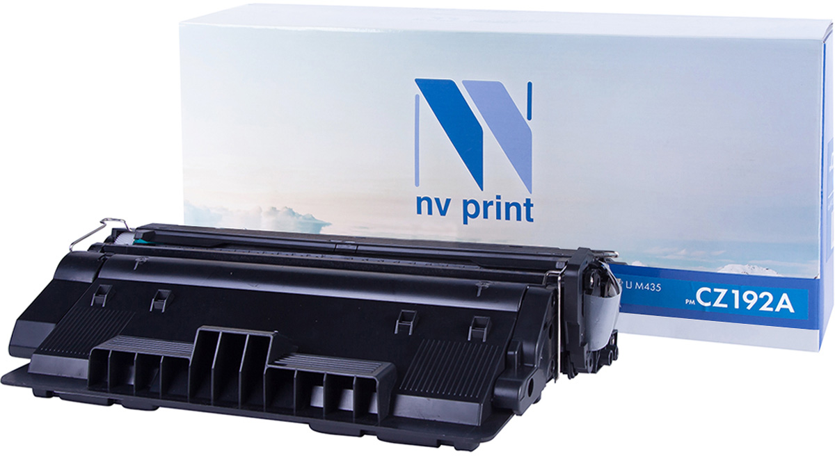 NV Print CZ192A, Black тонер-картридж для HP LaserJet M435NV-CZ192AСовместимый лазерный картридж NV Print CZ192A для печатающих устройств HP - это альтернатива приобретению оригинальных расходных материалов. При этом качество печати остается высоким. Тонер-картридж NV Print CZ192A спроектирован и разработан с применением передовых технологий, наилучшим образом приспособлен для эффективной работы печатного устройства. Все компоненты оптимизируют процесс печати и идеально сочетаются в течение всего времени работы, что дает вам неизменно качественные результаты при использовании вашего лазерного принтера.