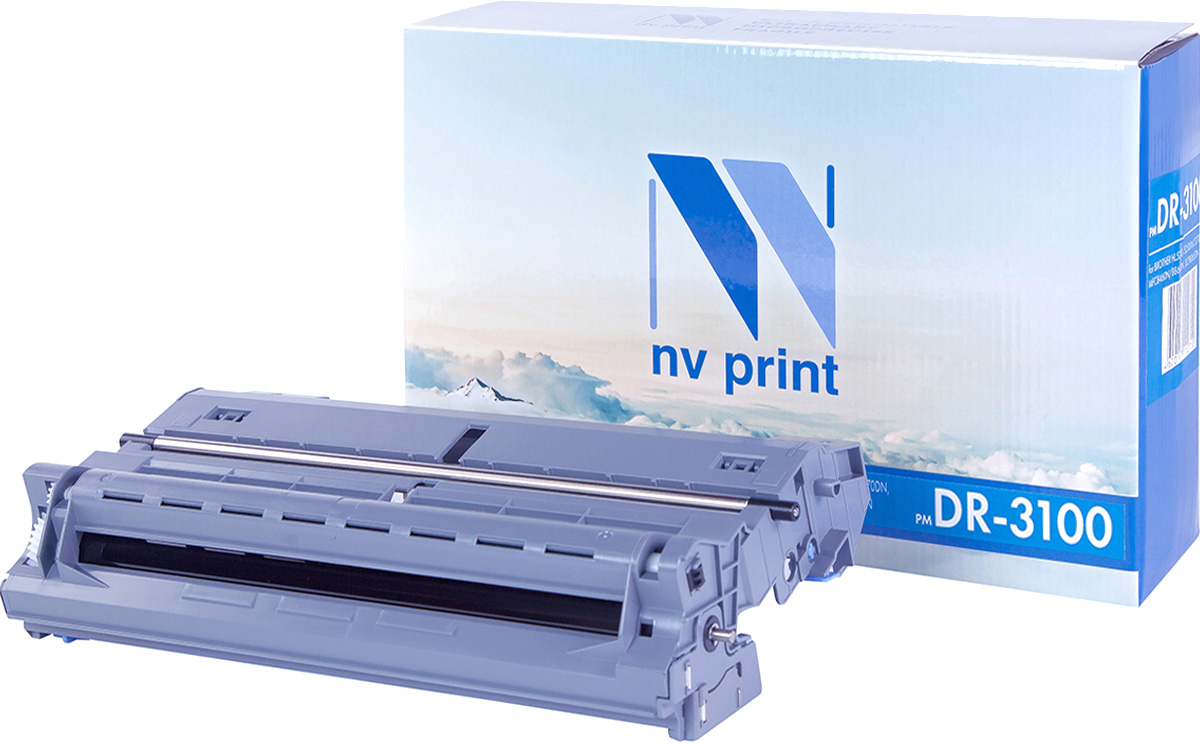 NV Print DR3100, Black Барабан для Brother HL 5240/5250DN/5270DN, MFC8460N/8860DN/DCP8065DN refillable color ink jet cartridge for brother printers dcp j125 mfc j265w 100ml