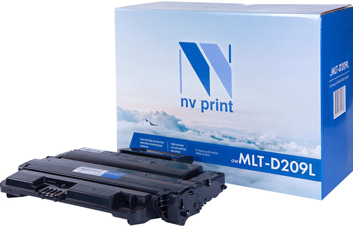 NV Print MLT-D209L, Black тонер-картридж для Samsung ML-2855ND/SCX-4824FN/4828FN картридж для принтера nv print samsung mlt d109s black